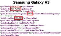 Samsung Galaxy A3 (SM-A300) получит 64-битный процессор
