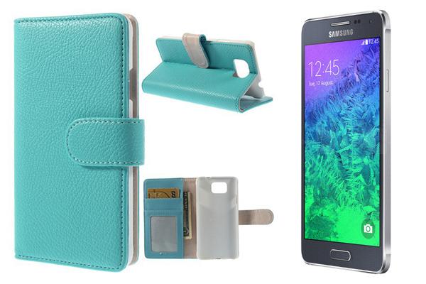 Кожаный чехол для Samsung Galaxy Alpha