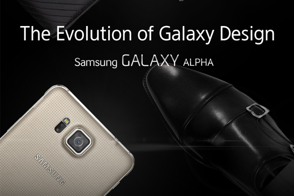 Samsung Galaxy Alpha - наглядная инфографика