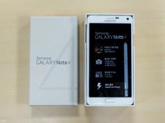 Распаковка корейского Samsung Galaxy Note 4