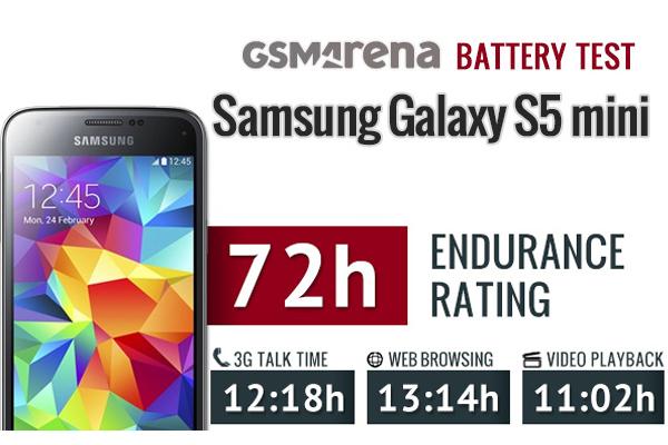 Samsung Galaxy S5 Mini - тест времени автономной работы