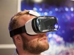 Samsung Gear VR - работа очков виртуальной реальности