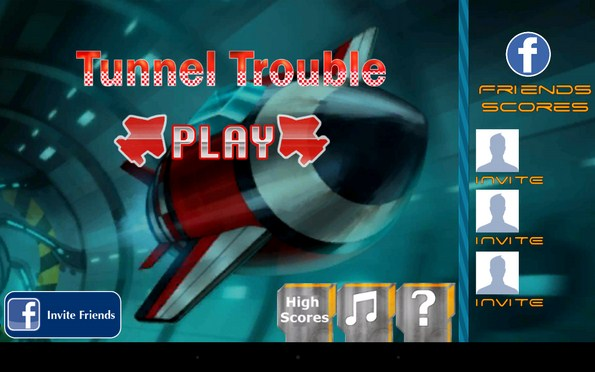 Tunnel Trouble 3D – полет в тоннеле для Galaxy S5, S4, S3, Note 3, Ace 2