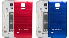 Алюминиевая задняя крышка на Galaxy Note 4