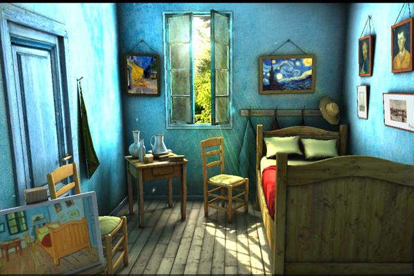 Обои Art Alive 3D – комната гения для Samsung Galaxy Note 3, S5, S4, S3