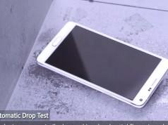 Видео с Samsung Galaxy Note 4 - дроп-тест и тест на выгибание