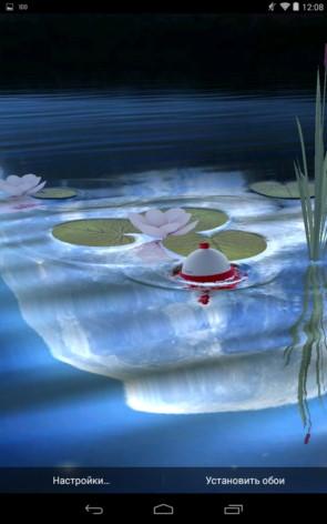 Fishing Float – рыболовные обои для Samsung Galaxy Note 3, S5, S4, S3