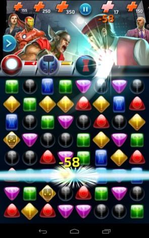 Marvel Puzzle Quest – супергерои против врагов для Samsung Galaxy S5, S4, Note 3