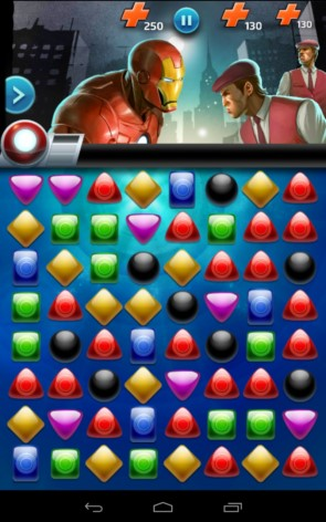 Marvel Puzzle Quest – супергерои против врагов для Samsung Galaxy S5, S4, Note 3