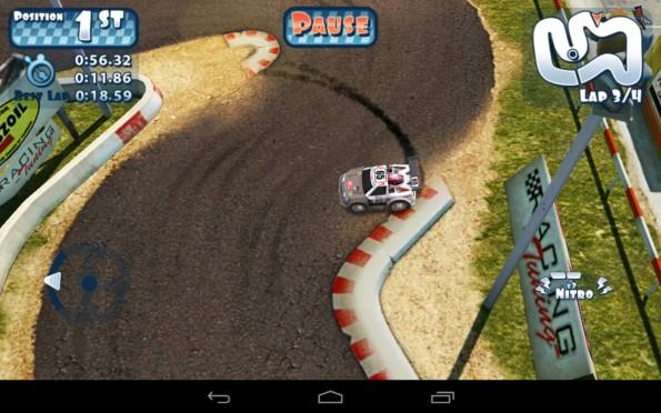 Mini Motor Racing – гонки на минимашинах для Samsung Galaxy S5, S4, Note 3