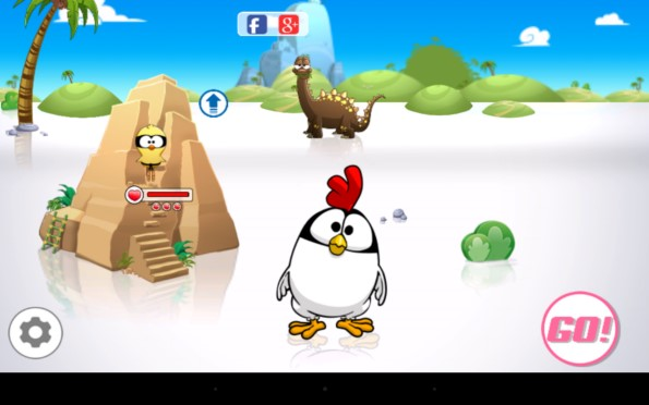 Ninja Chicken – куриные бега для Samsung Galaxy S5, S4, Note 3