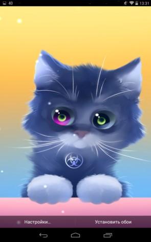 Radioactive Cat – облученный котенок для Galaxy S5, S4, S3, Note 3, Ace 2