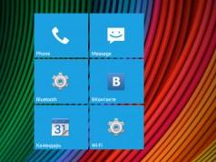 Real Widget – виджет-плитки для Samsung Galaxy Note 3, S5, S4, S3