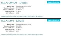 """Samsung Galaxy A5 – версия Dual SIM с LTE и """"односимочная"""" с 3G"""