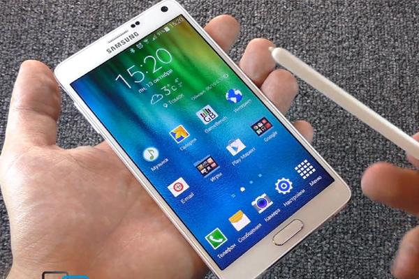 Samsung Galaxy Note 4 - видео обзор на русском