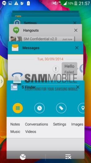 Android Lollipop на Samsung Galaxy S5 - видео и скриншоты