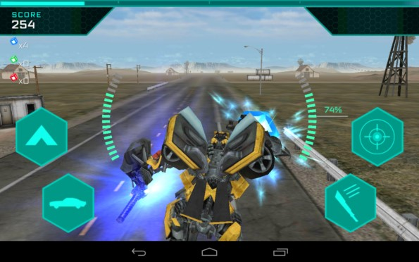 TRANSFORMERS: Age of Extinction – сражения трансформеров для Samsung Galaxy S5, S4, Note 3