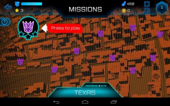 TRANSFORMERS: Age of Extinction – сражения трансформеров для Samsung Galaxy S5, S4, Note 3