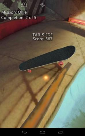 True Skate – скейтбординг на кончиках пальцев для Samsung Galaxy S5, S4, Note 3