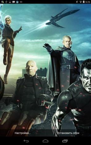 X-Men: Days of Future Past – обои с супергероями для Samsung Galaxy Note 3, S5, S4, S3