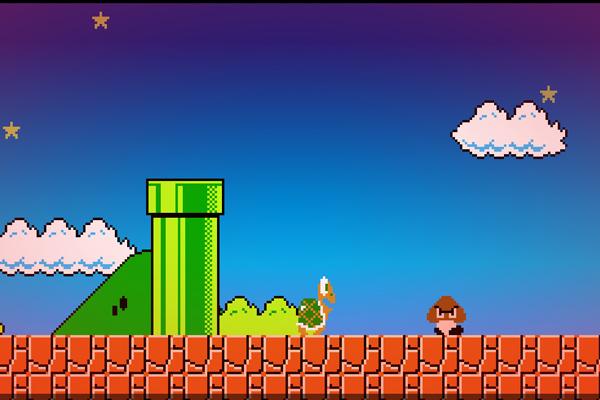 8-Bit – обои в стиле Марио для Galaxy S5, S4, S3, Note 3, Note 4, Ace 2