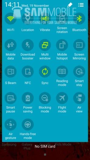 Видео с скриншоты тестовой версии Android 5.0 Lollipop для Samsung Galaxy Note 3