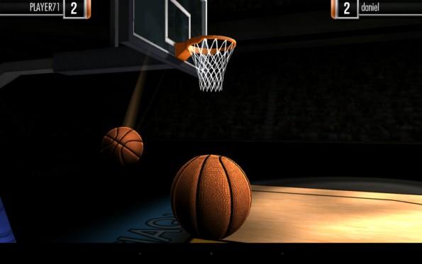 Basketball Showdown – поражаем кольцо для Samsung Galaxy S5, S4, Note 3, Note 4