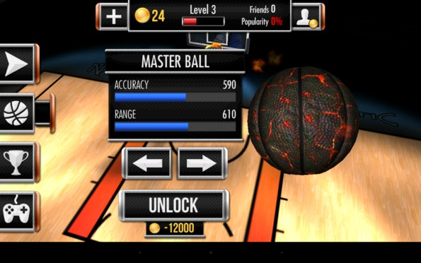Basketball Showdown – поражаем кольцо для Samsung Galaxy S5, S4, Note 3, Note 4