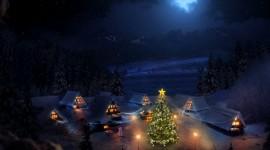 Christmas Village – рождественская ночь в посёлке