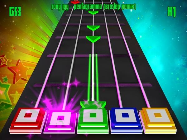 Dubstep Hero: Fresh Wobbles - музыкальная аркада