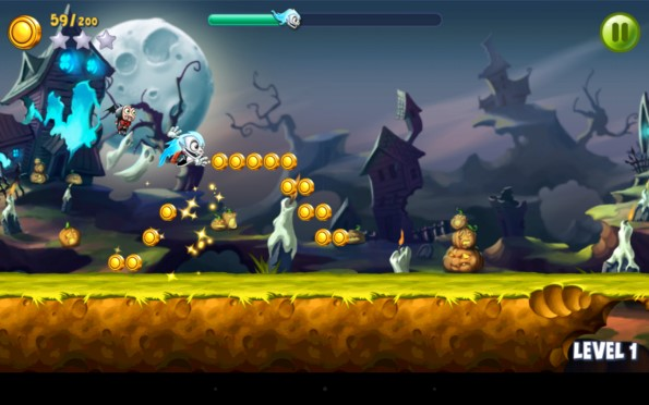 Go Go Ghost – приключения призрака для Samsung Galaxy Note 4, Note 3, S5, S4, S3