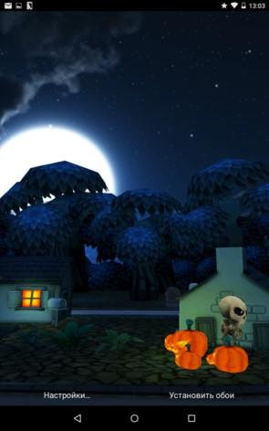 Haunted Village – деревня призраков для Samsung Galaxy S5, S4, Note 3, Note 4