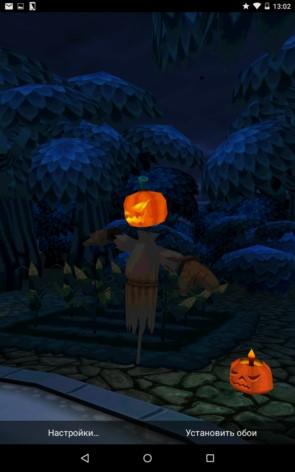 Haunted Village – деревня призраков для Samsung Galaxy S5, S4, Note 3, Note 4