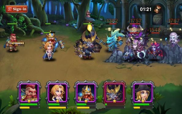 Heroes Charge – герои света для Галакси С5, С4, Нот 4, Нот 3
