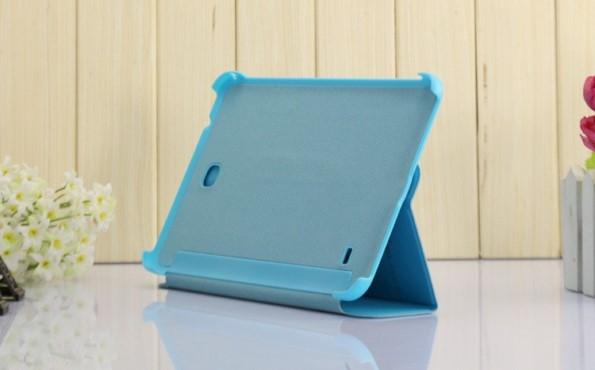 Кожаный чехол-книжка на Samsung Galaxy Tab 4 7.0 - много цветов