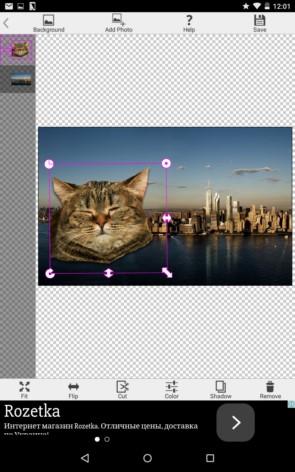 PhotoLayers – фотомонтаж для Samsung Galaxy S5, S4, Note 3, Note 4