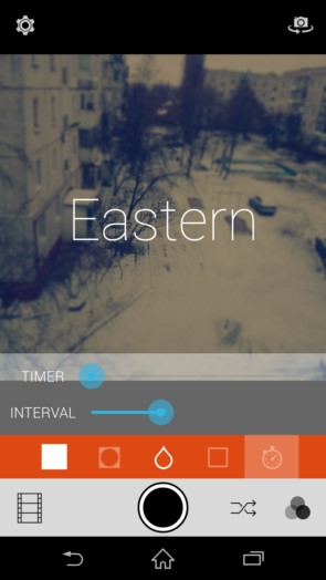 Retrica – эффекты для фото для Samsung Galaxy Note 4, Note 3, S5, S4, S3