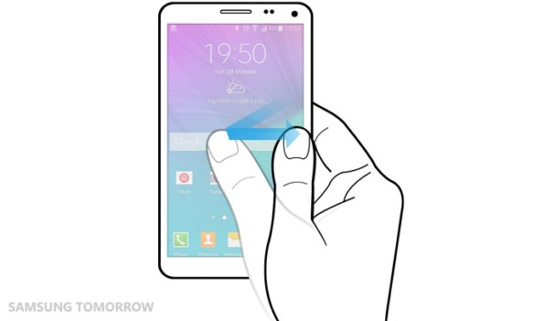 Обзор программных особенностей интерфейса TouchWiz в Galaxy Note 4