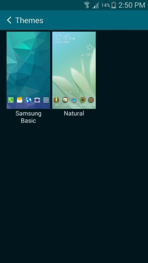 Скриншоты Темы в новом TouchWiz