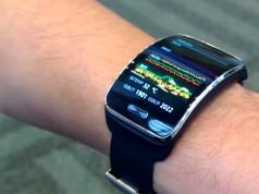 Видео работы часов Samsung Simband