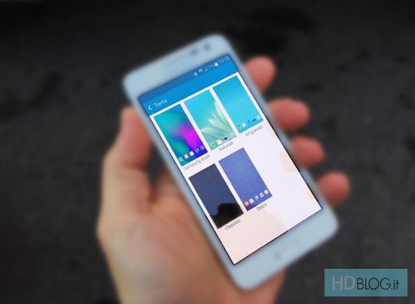 Темы - нововведение в интерфейс TouchWiz