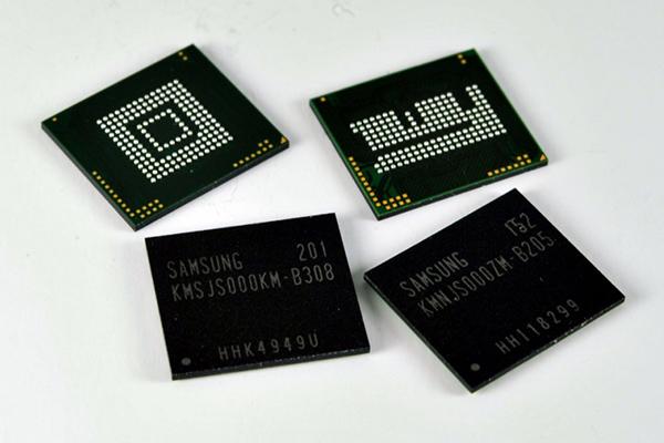 Samsung готовятся к выпуску скоростных ROM накопителей UFS
