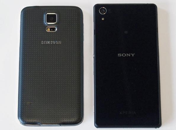 Сравнение Samsung Galaxy S5 и Sony Xperia Z2
