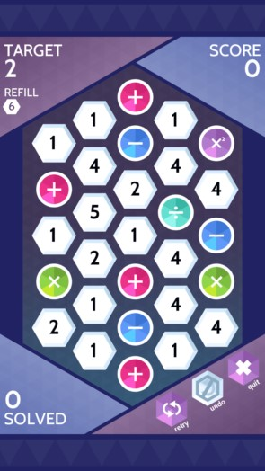 Sumico – математическая головоломка для Samsung Galaxy Note 4, Note 3, S5, S4, S3