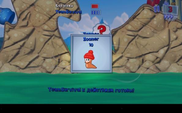 Worms 3 – новые битвы червяков для Samsung Galaxy S5, S4, Note 3, Note 4