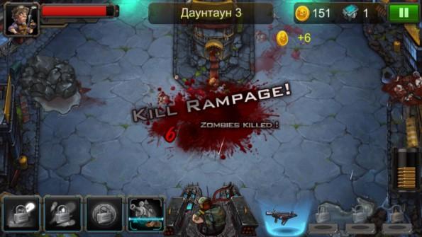 Zombie Evil 2 – новое нашествие зомби для Samsung Galaxy Note 4, Note 3, S5, S4, S3