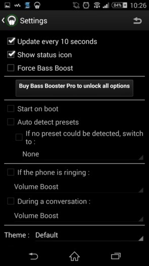 Bass Booster – усиливаем басы для Galaxy S5, S4, S3, Note 3, Note 4, Ace 2