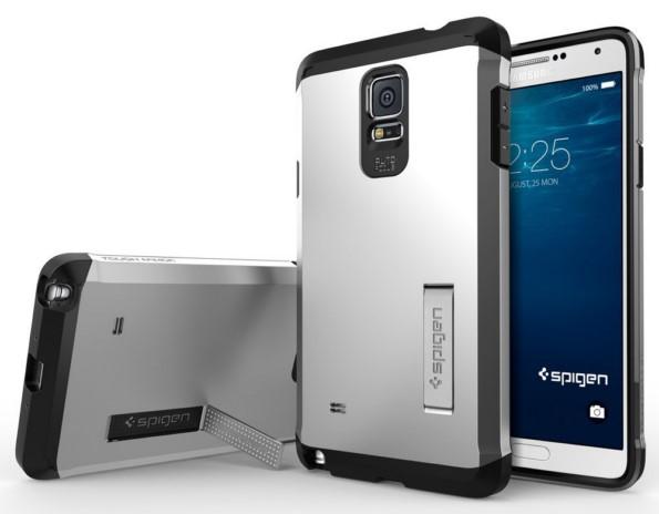 Супер защитный чехол Spigen для Samsung Galaxy Note 4