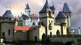 Castle 3D – обои с замком