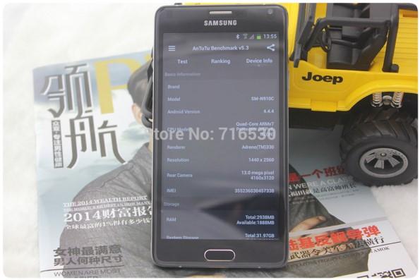 HDC Note 4 - китайская копия Samsung Galaxy Note 4